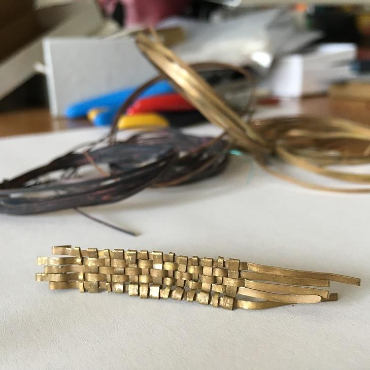 z výroby náhrdelníku