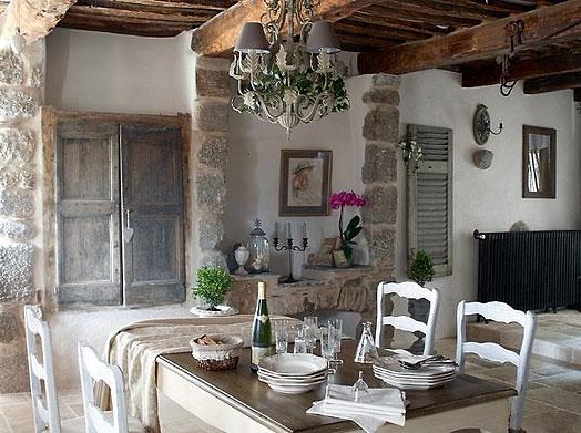 Venkovský styl domu